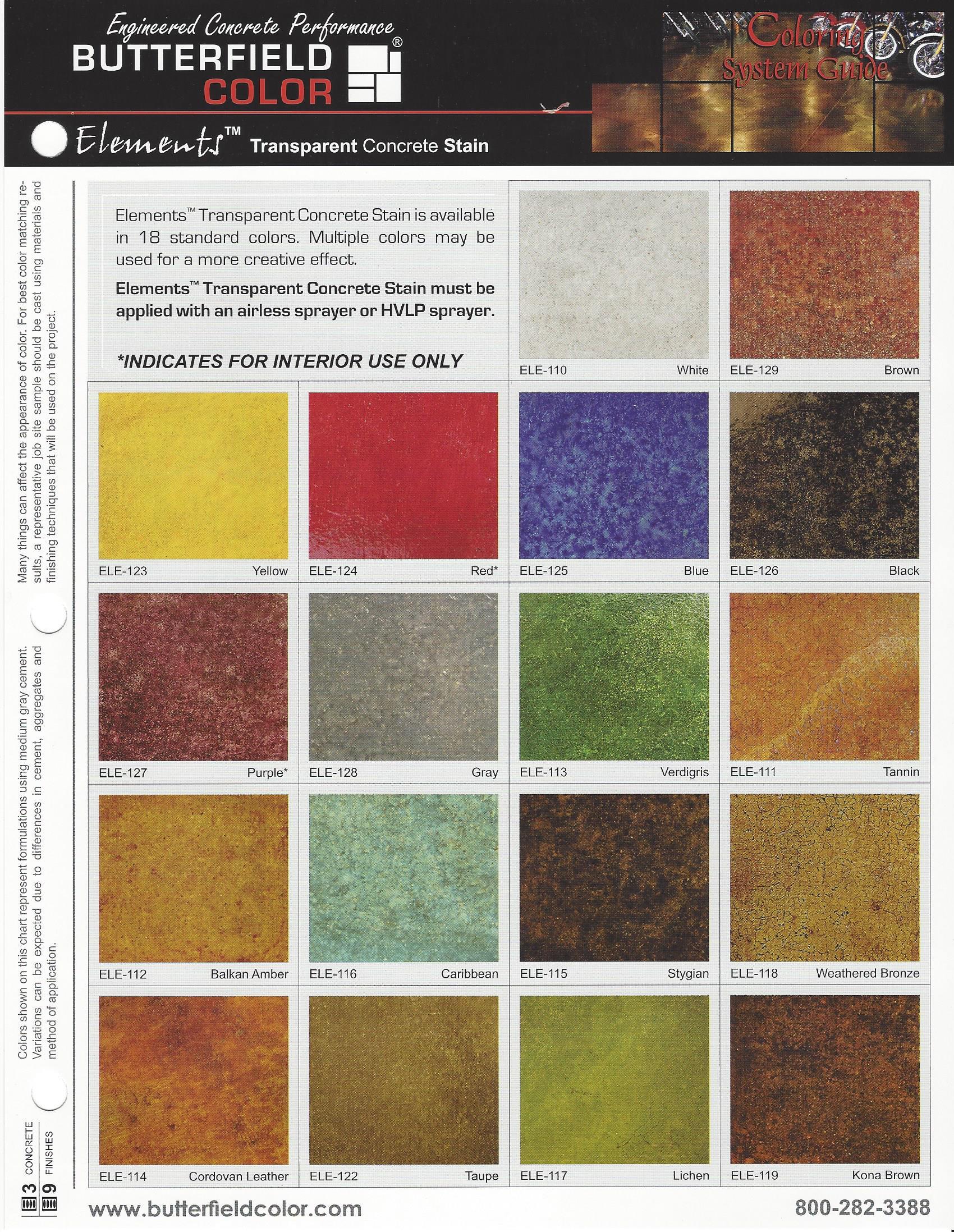 Concrete Stain Colors : Acid stained concrete chattanooga huntsville nashville